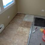 Tile Install 2-3